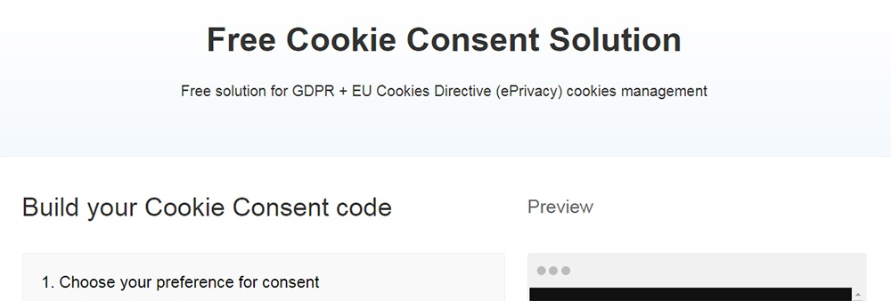 TermsFeed: Cookies Consent Solution