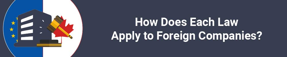 How Does Each Law Apply to Foreign Companies?