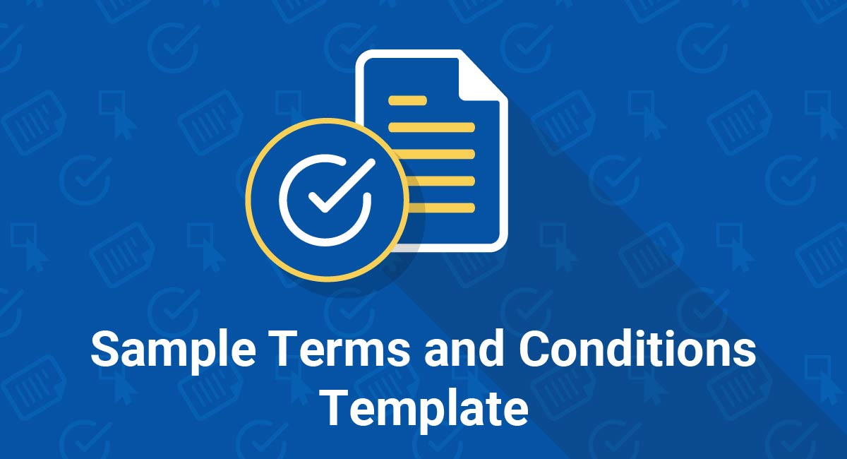 Sample Terms and Conditions Template